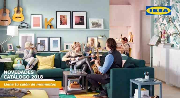 Nuevo catálogo de Ikea 2018: Llena tu salón de momentos