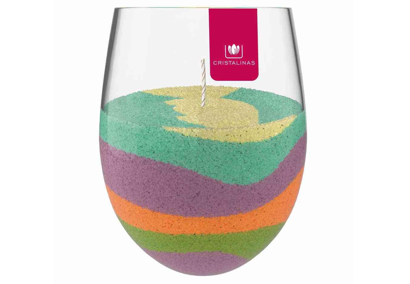 Cristalinas nos permite crear nuestra propia vela aromática gracias a su Vela Creativa 2