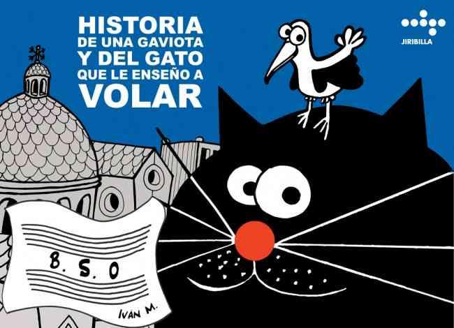 Teatro de títeres para niños en Historia de una gaviota y del gato que le enseñó a volar