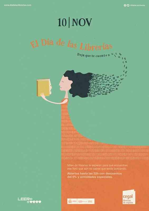 La VII edición del Día de las Librerías se celebrará el próximo 10 de noviembre 1
