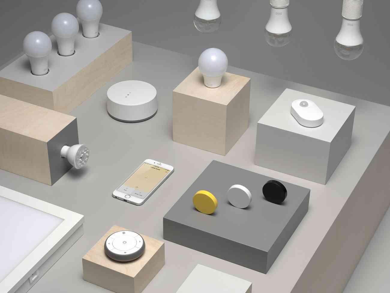IKEA ofrece control por voz en su colección de iluminación inteligente 1