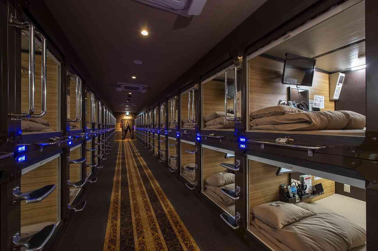 Hoteles cápsula, el futuro ya está aquí
