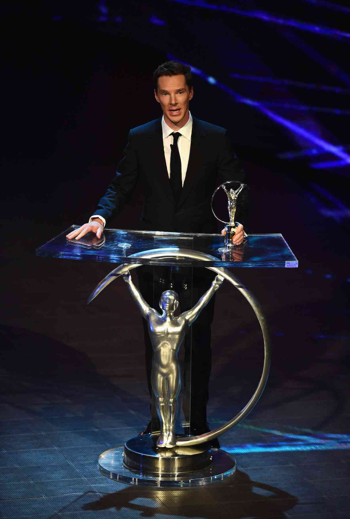 Benedict Cumberbatch en premios Laureus