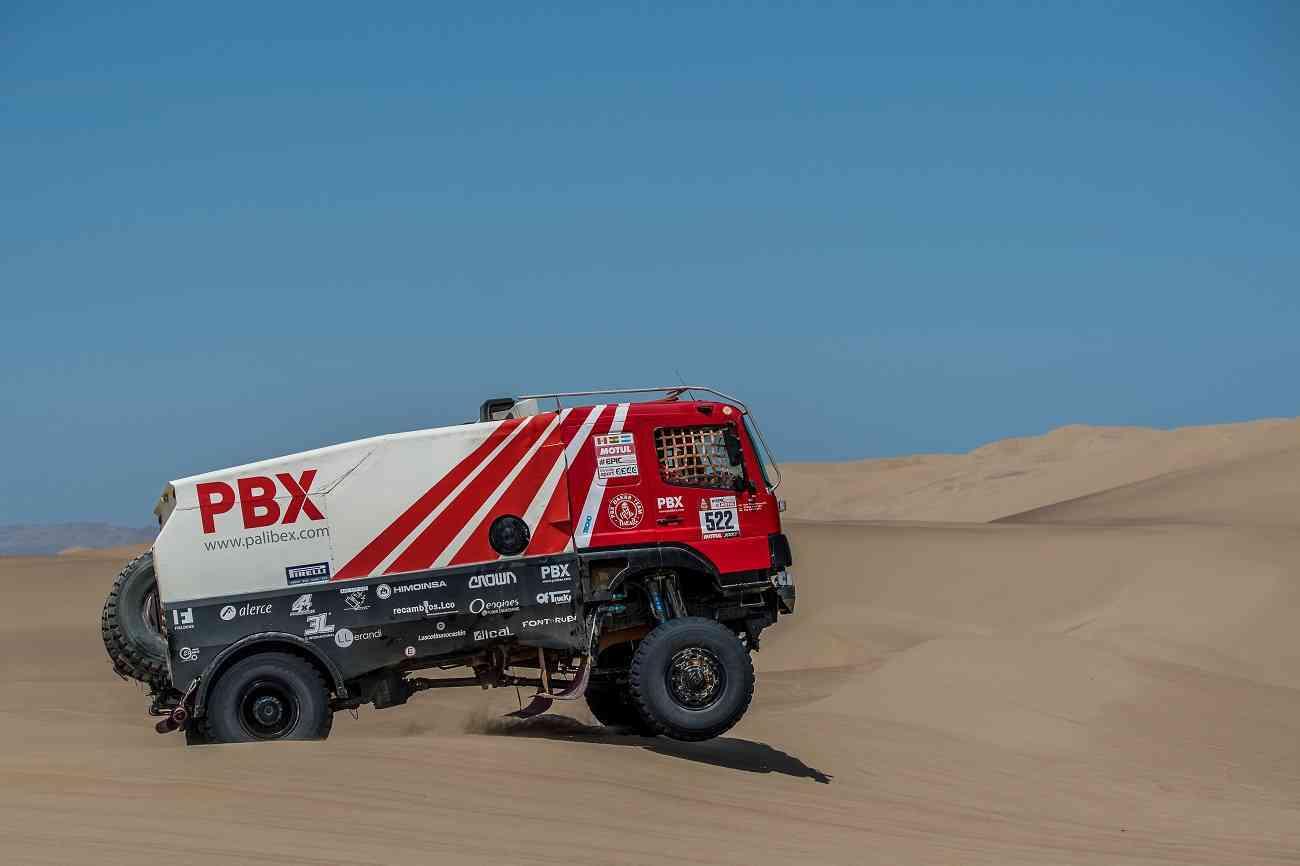 PBX Dakar Team, el único equipo español de camiones vivo en el Dakar 3