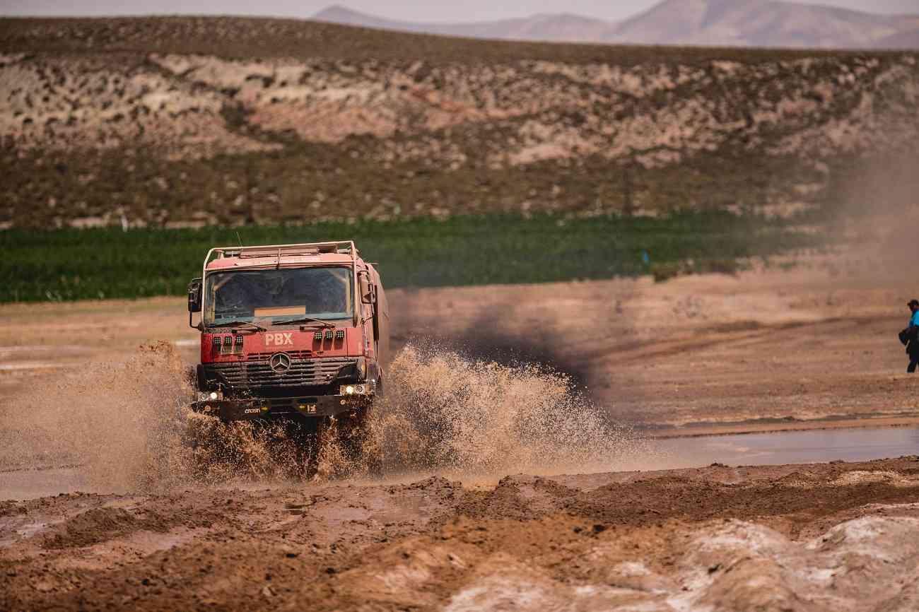 PBX Dakar Team, el único equipo español de camiones vivo en el Dakar 4
