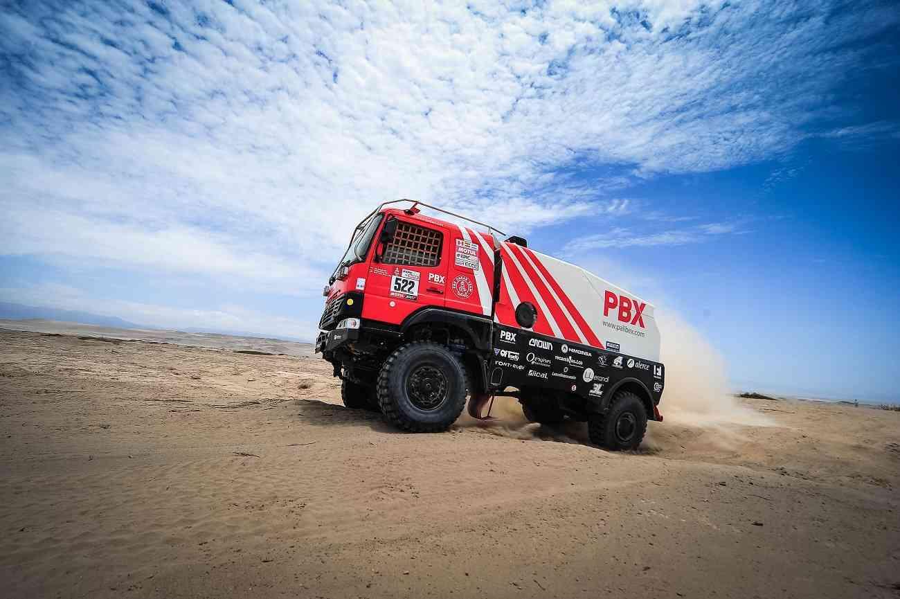 El equipo de camiones Palibex finaliza con éxito el Dakar 2