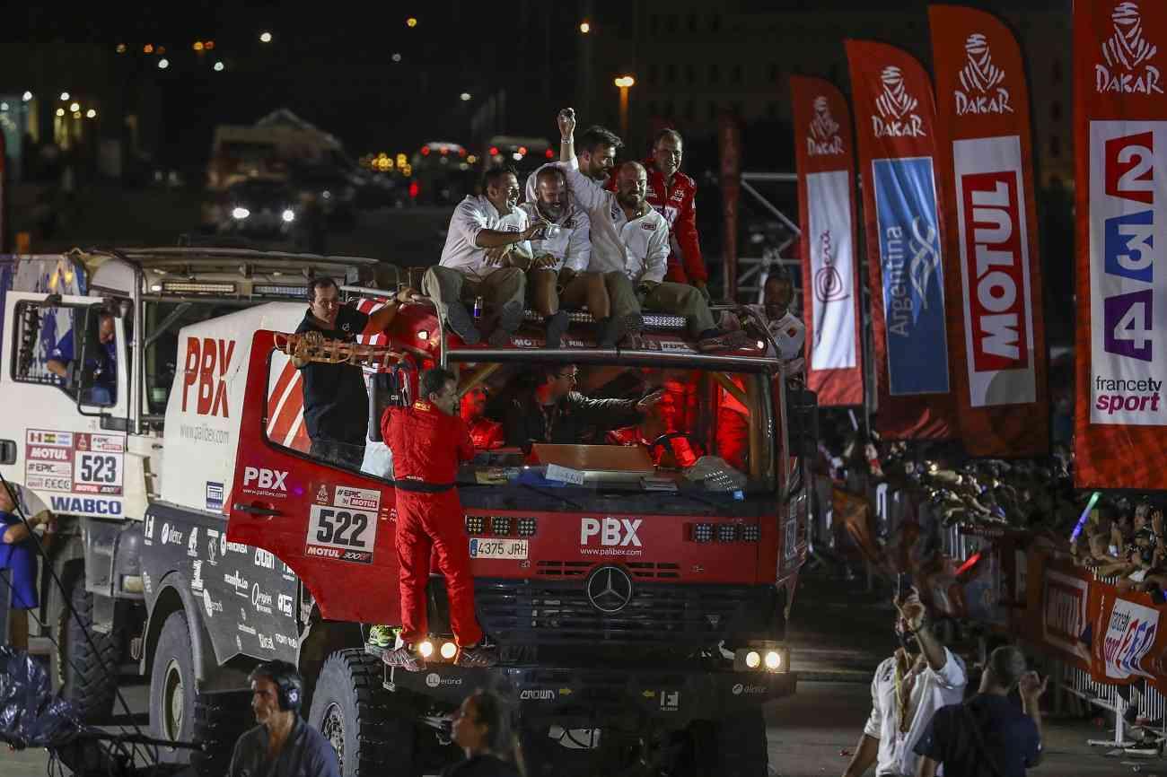 El equipo de camiones Palibex finaliza con éxito el Dakar 5