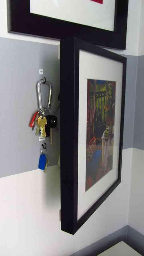 Lugares ingeniosos donde guardar nuestros objetos de valor 11