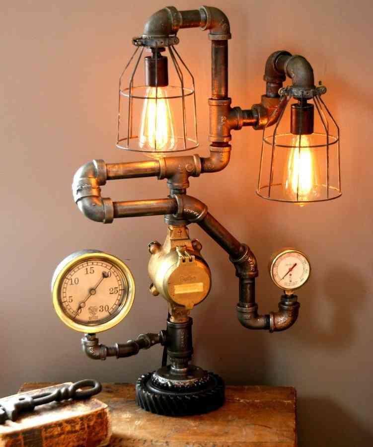 9 ideas de decoración steampunk para ambientes futuristas 3