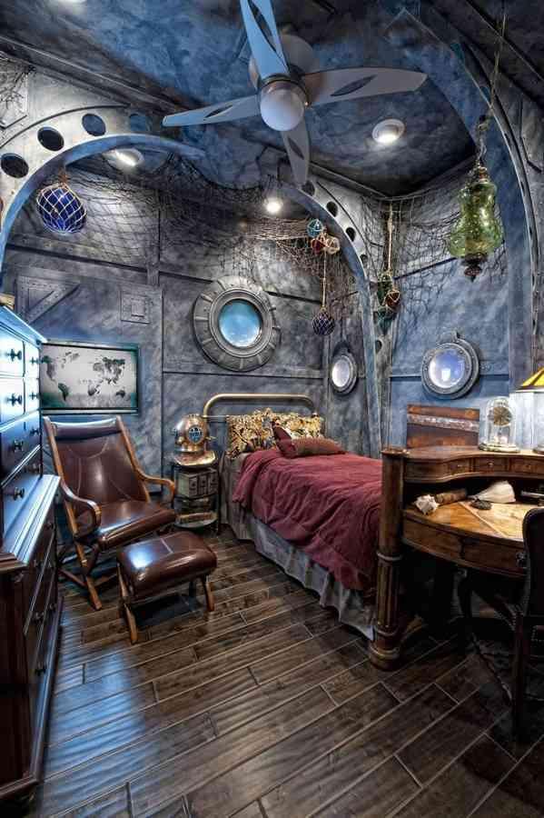 9 ideas de decoración steampunk para ambientes futuristas 7