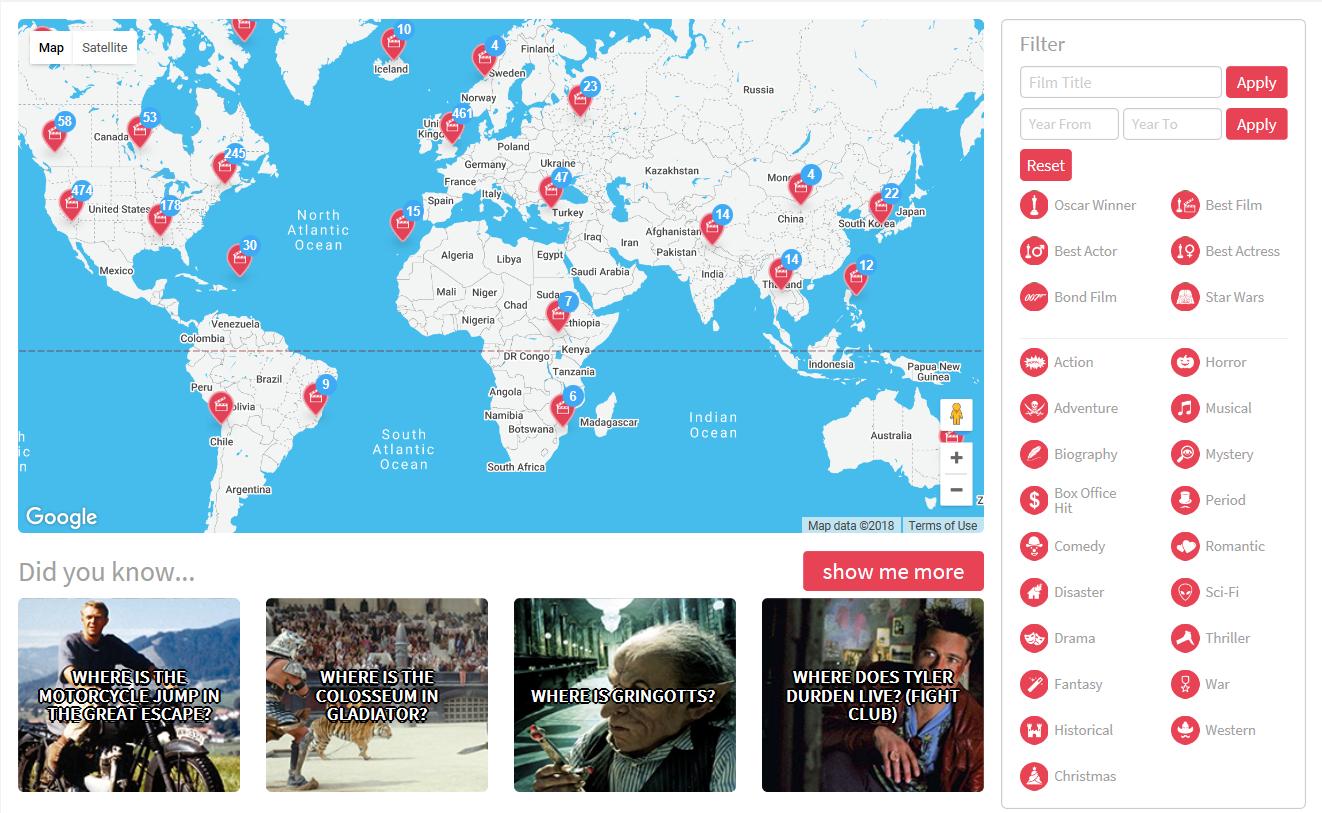 Un viaje por el mundo en 442 películas 1