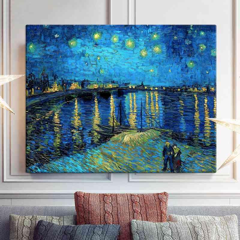 Adaptan la obra de Van Gogh al cine y la decoración 2