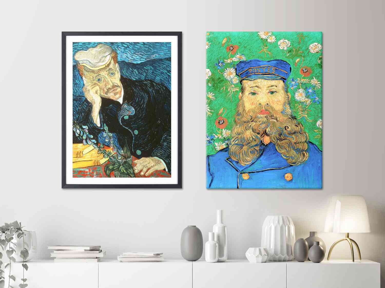 Adaptan la obra de Van Gogh al cine y la decoración 1