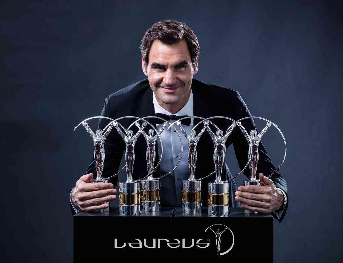 Roger Federer, el deportista más condecorado de la historia de los premios Laureus 1