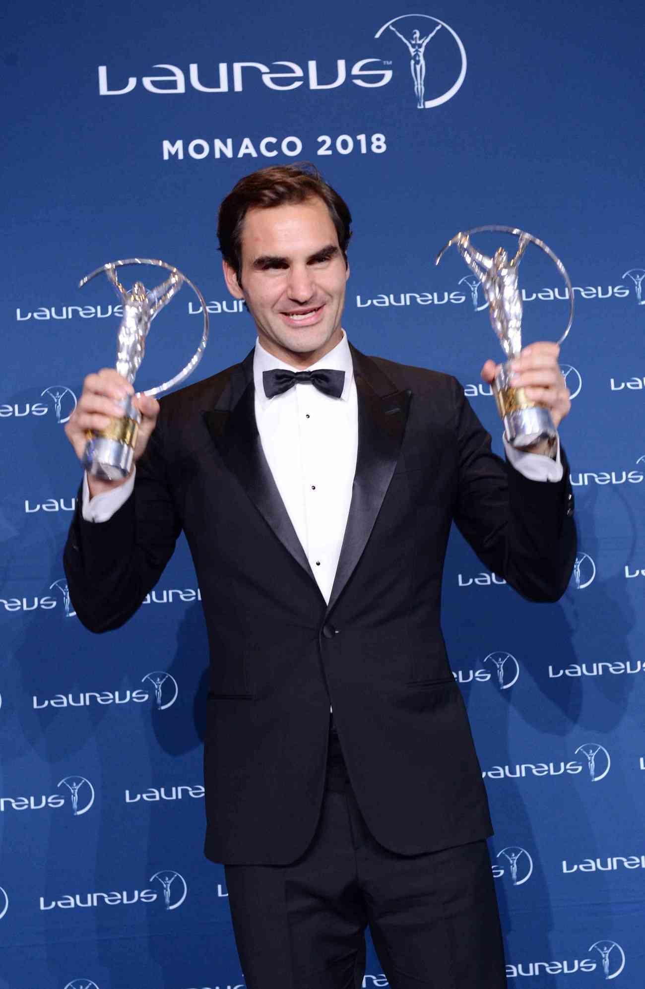 Roger Federer, el deportista más condecorado de la historia de los premios Laureus 2