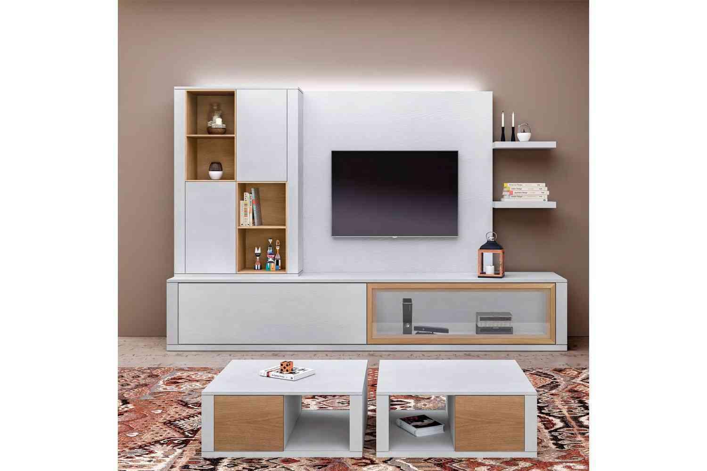 Muebles Modulares Modernos Great Saln Moderno Ikea Con Muebles  # Muebles Modulares Bipiel