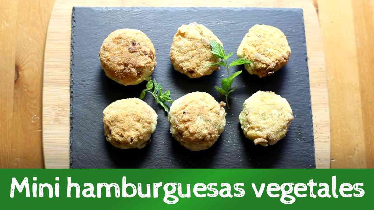 Aprende a preparar mini hamburguesas vegetarianas de tofu y avena 1