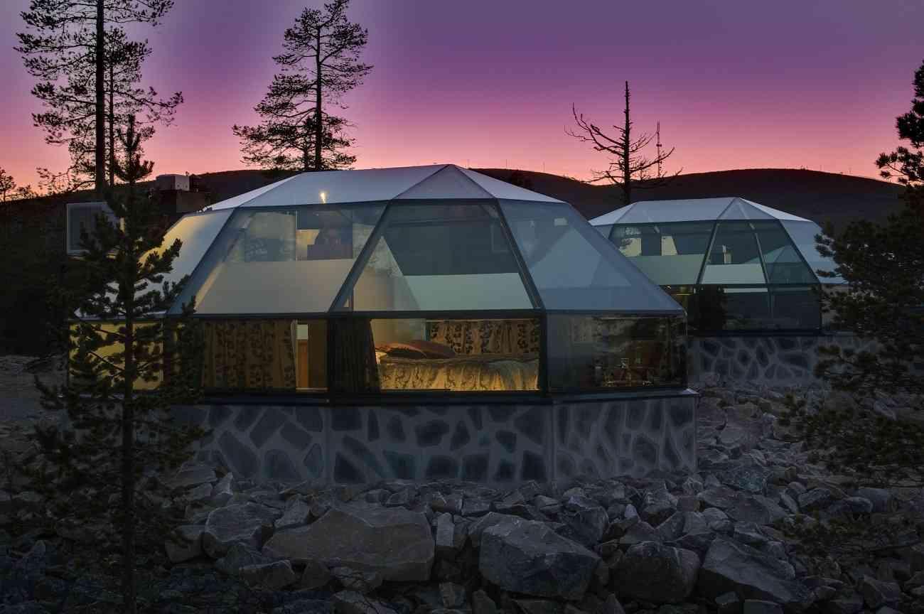 Disfruta de las auroras boreales en estos espectaculares alojamientos