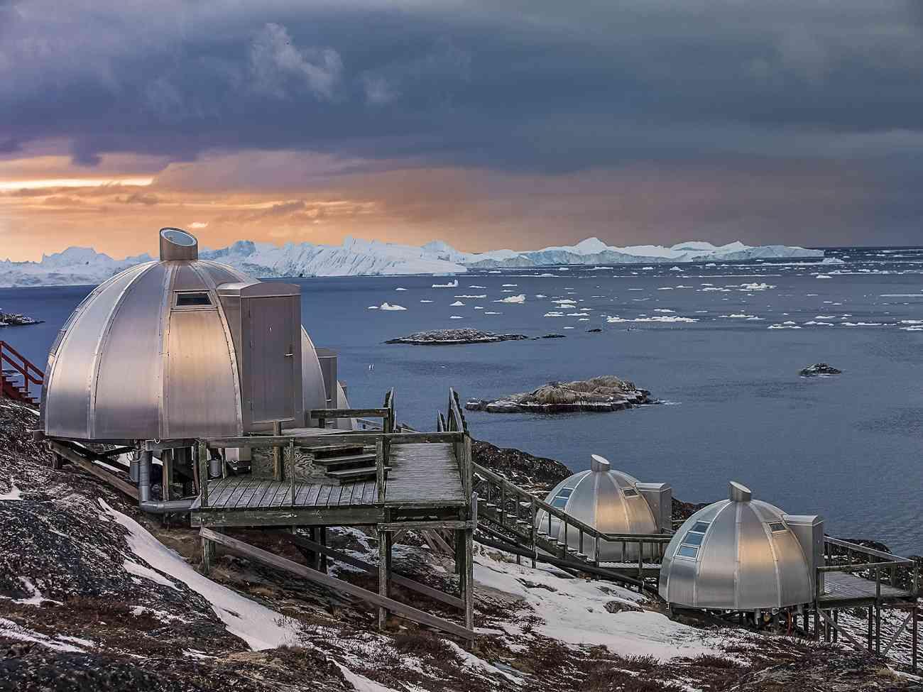 Disfruta de las auroras boreales en estos espectaculares alojamientos 3