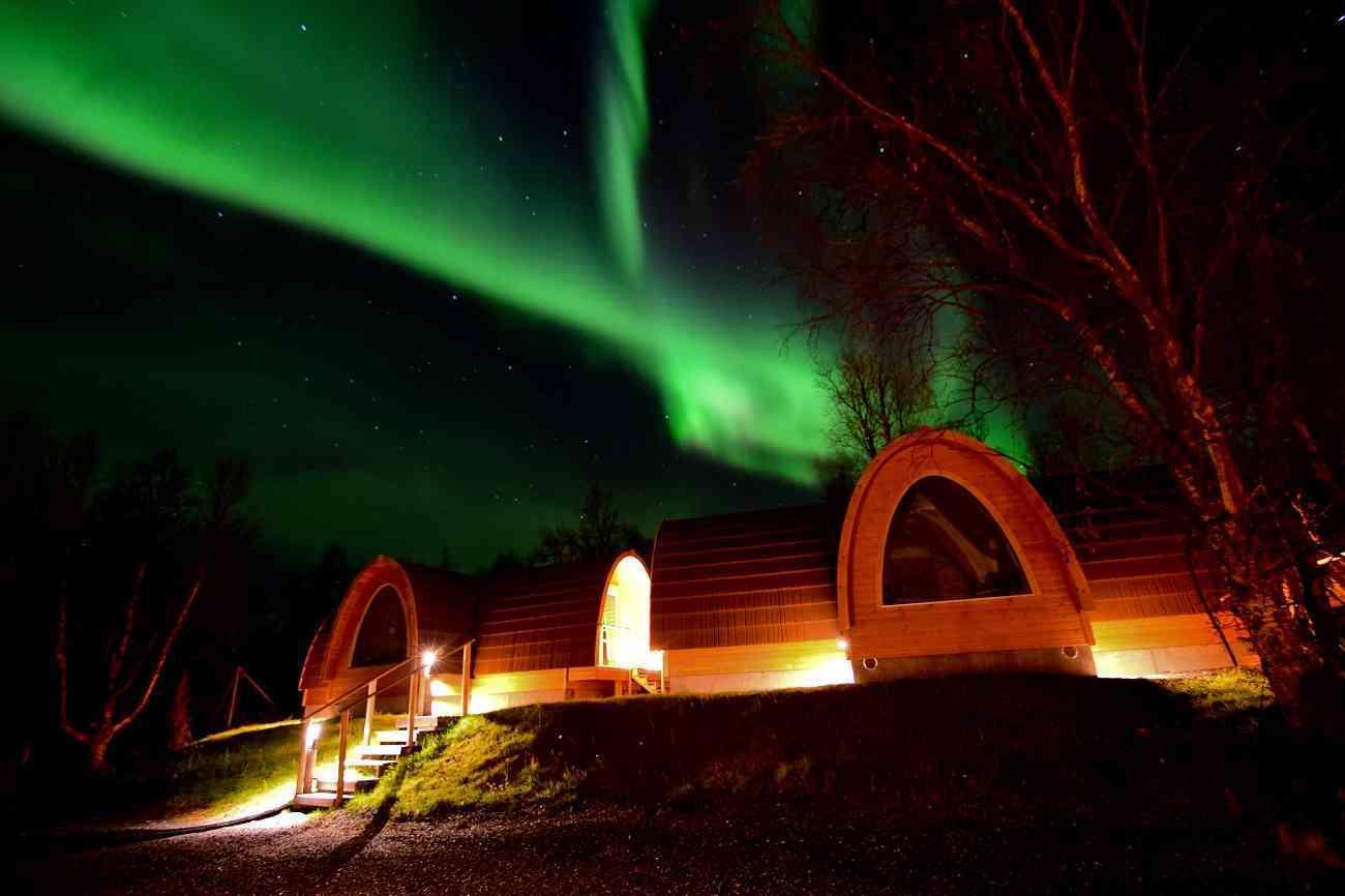 Disfruta de las auroras boreales en estos espectaculares alojamientos 2