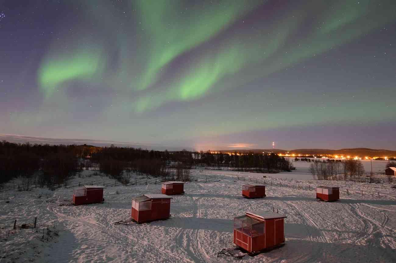 Disfruta de las auroras boreales en estos espectaculares alojamientos 7