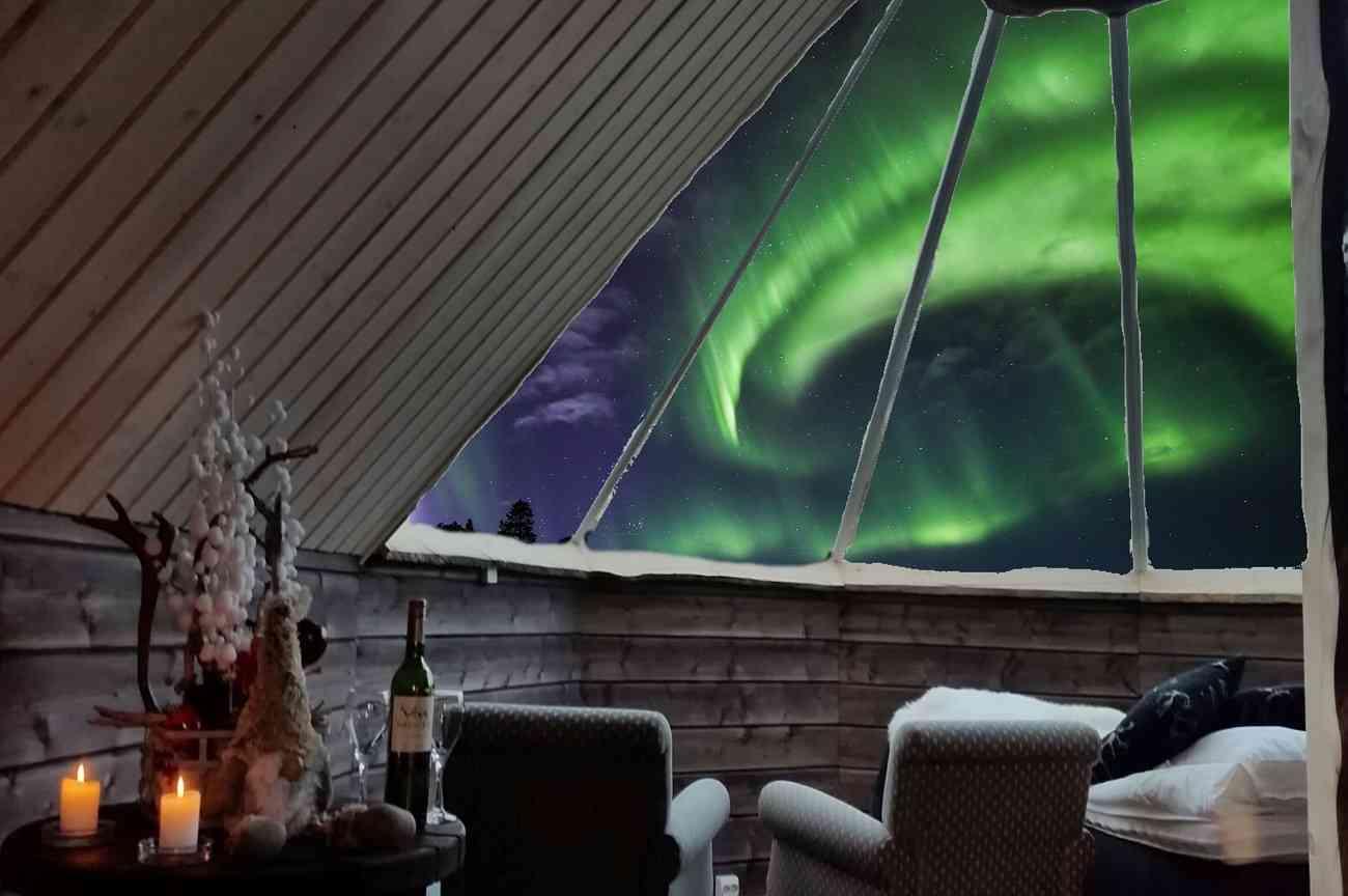 Disfruta de las auroras boreales en estos espectaculares alojamientos 4