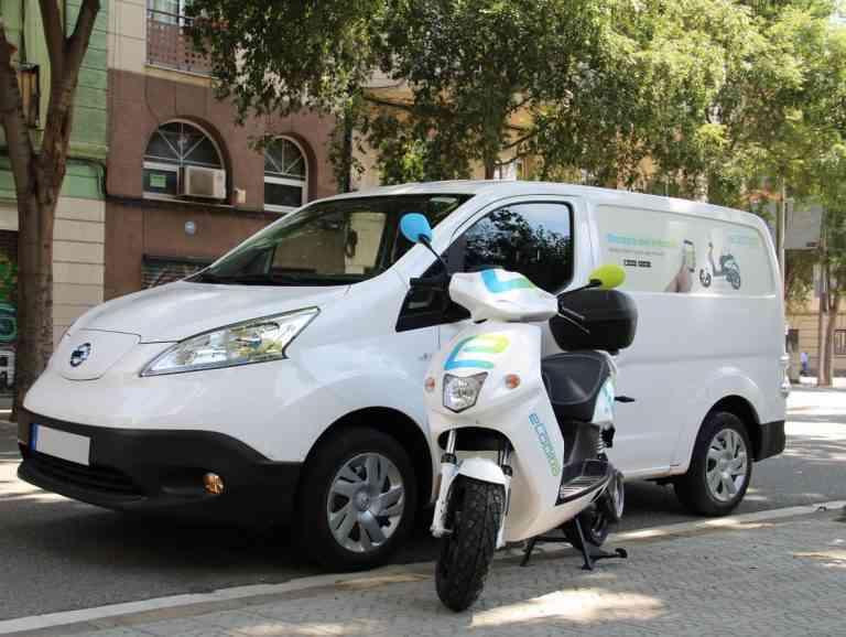 eCooltra confía en Nissan para ofrecer un servicio eléctrico y sostenible