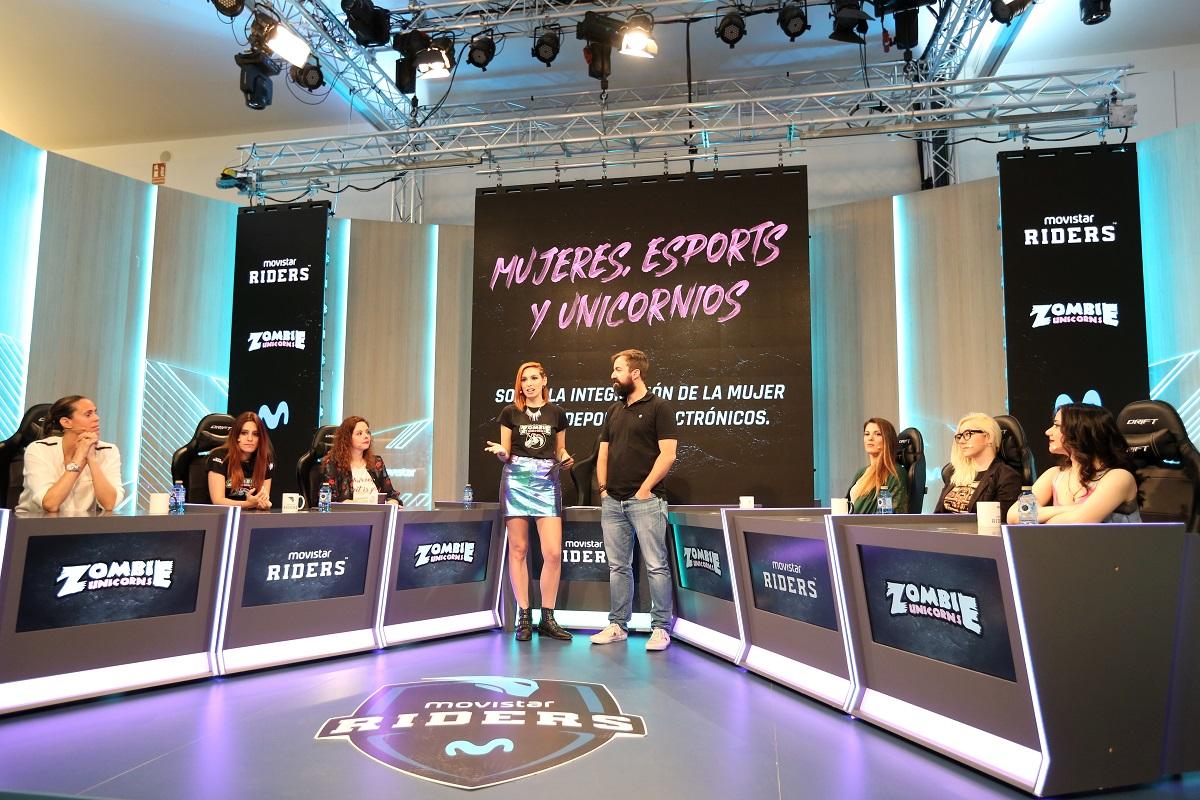 Movistar Riders impulsa la visibilidad de la mujer en los eSports 1
