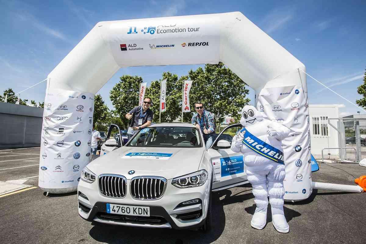 BMW bate el récord de reducción de consumo en el 11º ALD Ecomotion Tour 1