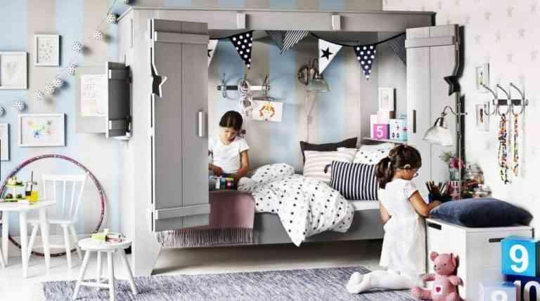 Transforma una habitación infantil con papel pintado