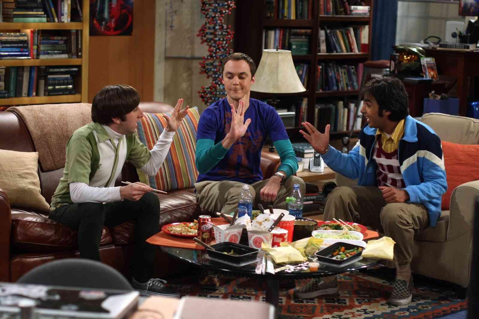 Descubre el menú semanal que comerías si fueras amigo de Sheldon Cooper 1