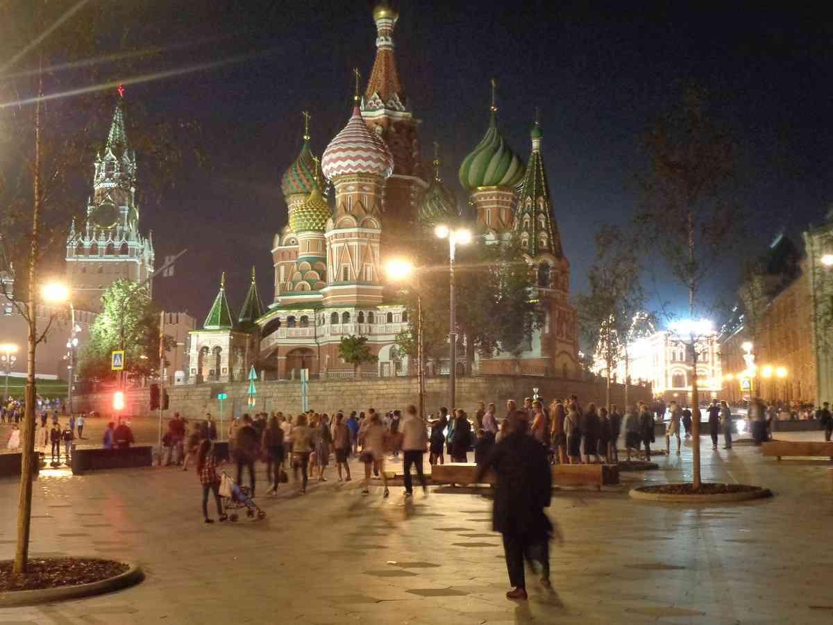 La nueva Moscú se muestra orgullosa de arriba abajo 16