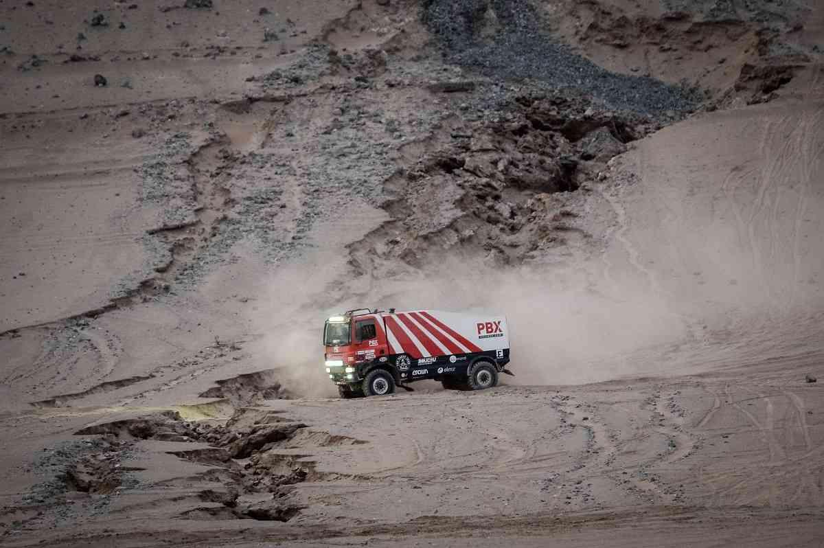 Los camiones de Palibex terminan el Dakar 2019