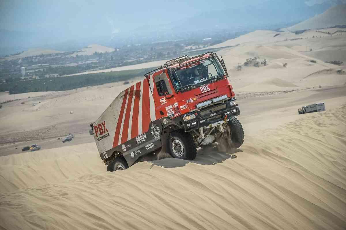 Los camiones de Palibex terminan el Dakar 2019 2