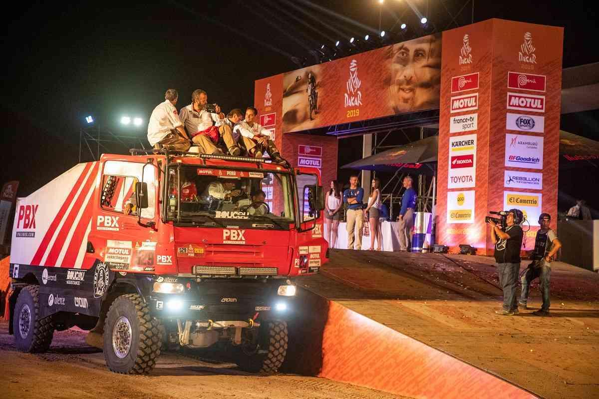 Los camiones de Palibex terminan el Dakar 2019 3