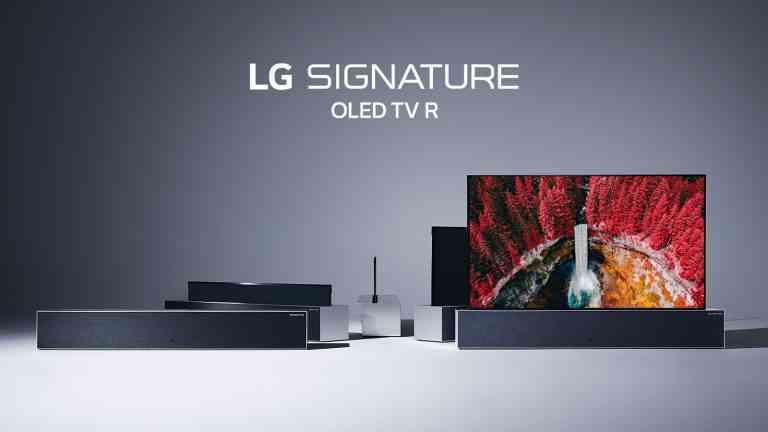 LG presenta la primera televisión enrollable del mundo
