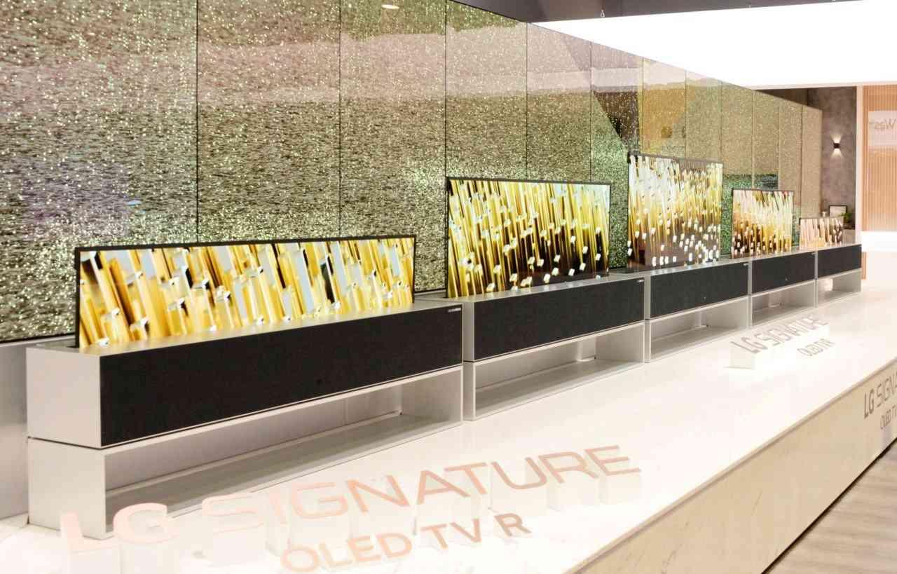 LG presenta la primera televisión enrollable del mundo 2