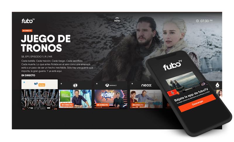 Llega a España fuboTV para brindar series y canales de televisión vía streaming