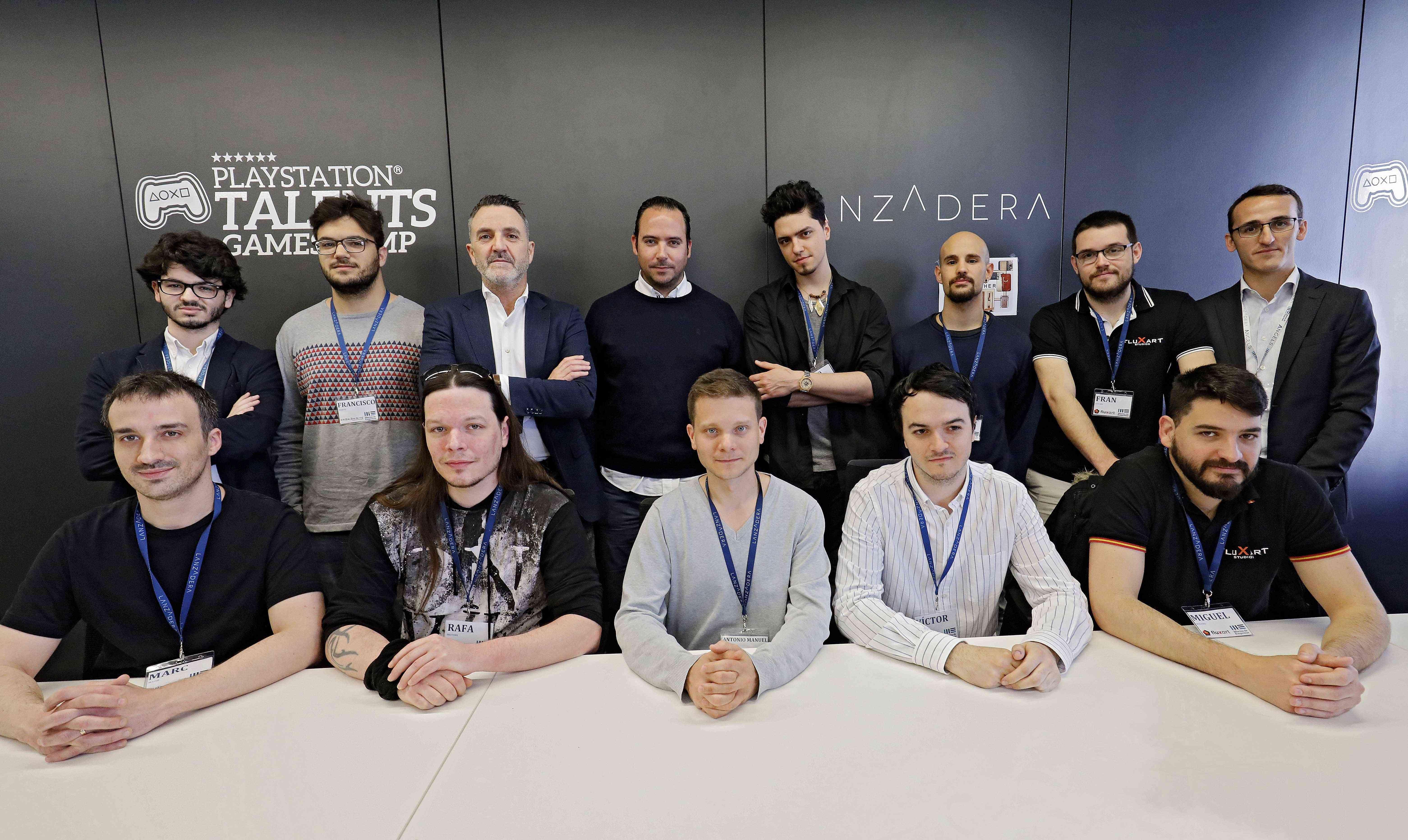 Presentación de los nuevos equipos de la III edición de PlayStation® Talents Games Camp València 1