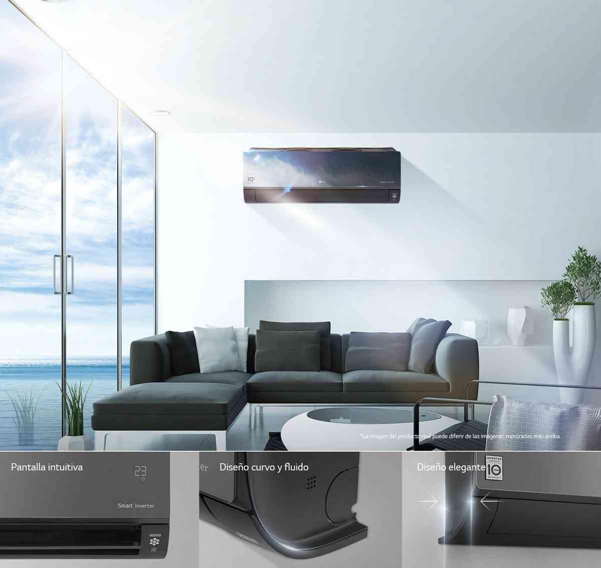 Celebrar el Día Mundial de la Refrigeración con el Artcool Mirror de LG