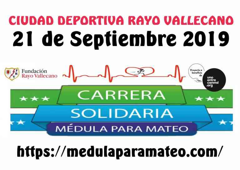 Más de mil corredores unidos para concienciar sobre la donación de médula en la Carrera Médula para Mateo