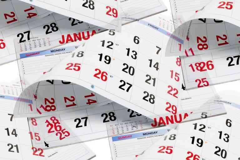 Tipos de calendarios personalizados con los que decorar tu casa