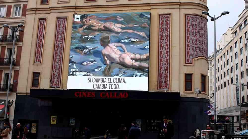 WWF España y el Museo del Prado lanzan una campaña conjunta por la Cumbre del Clima 11
