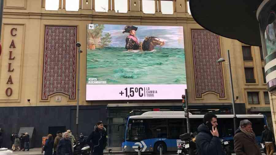WWF España y el Museo del Prado lanzan una campaña conjunta por la Cumbre del Clima 12