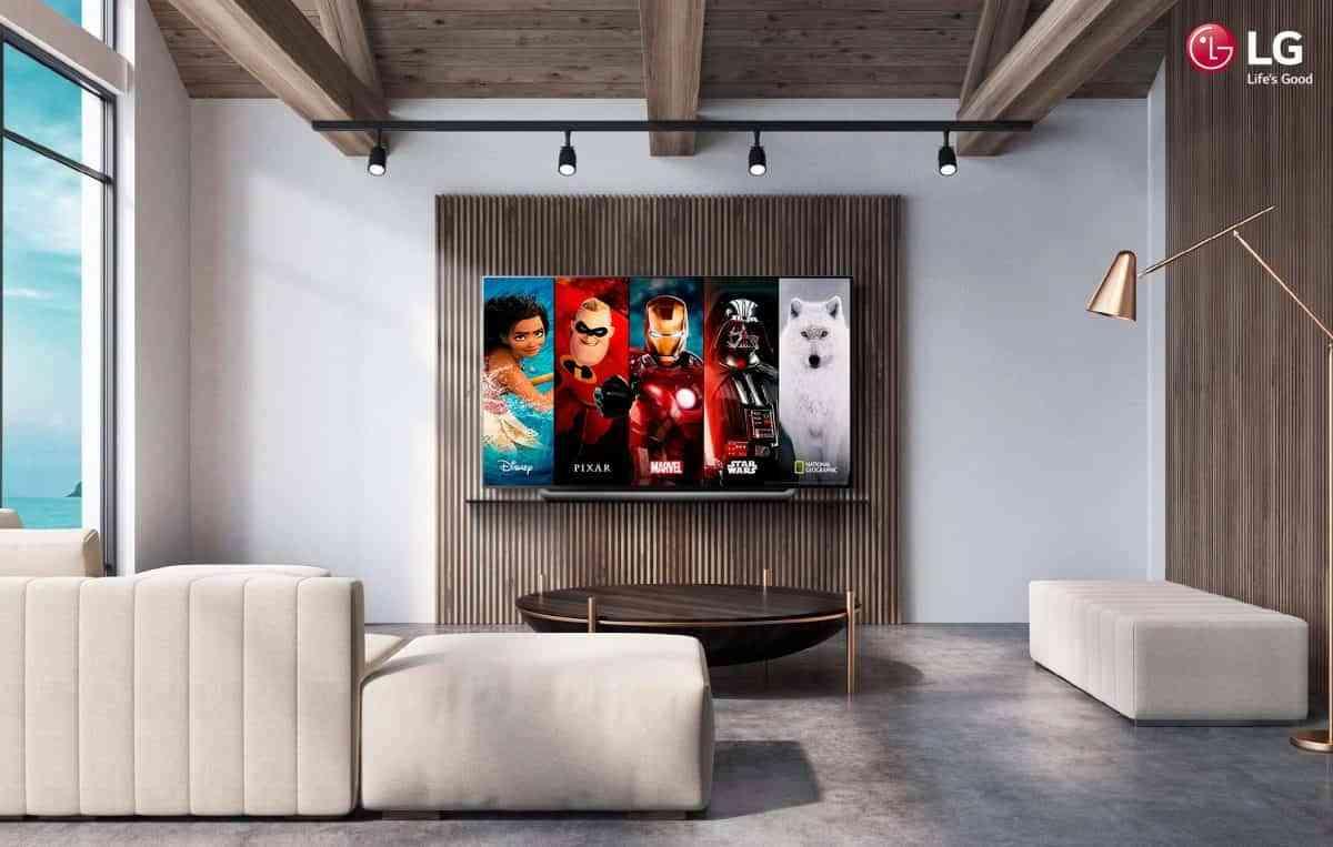 DISNEY + ya se puede disfrutar en televisores LG Smart TV 1