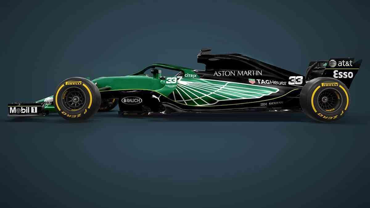 Aston Martin regresa a la parrilla de Formula 1 3